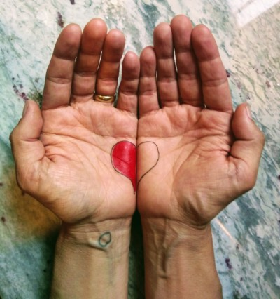 Hands have Heart and Show Self Love